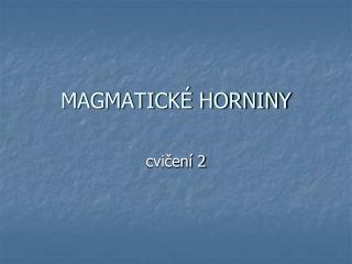 MAGMATICK  HORNINY