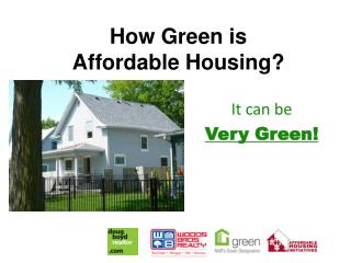 How Green is Affordable Housing?