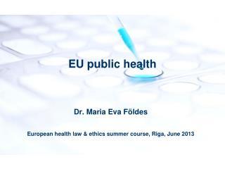 EU public health