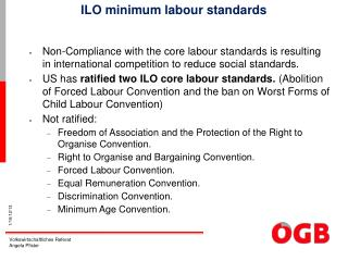 ILO minimum labour standards