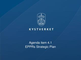 Agenda item 4.1  EPPRs Strategic Plan