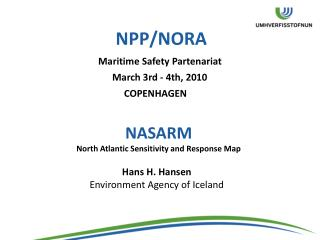 NPP/NORA