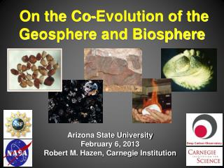 On the Co-Evolution of the Geosphere and Biosphere