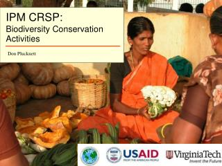 IPM CRSP: Biodiversity Conservation  Activities