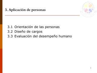 3. Aplicación de personas