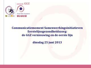 Situering verschillende functies GGZ vernieuwing (Filip  Desmit )