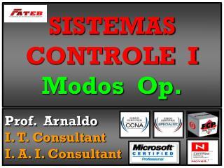 SISTEMAS CONTROLE  I Modos  Op.