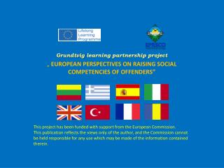 Grundtvig  learning partnership project