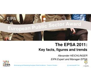 The EPSA 2011: