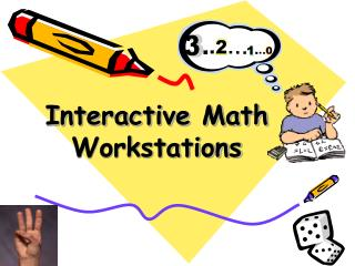 Interactive Math Workstations