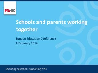 Schools and parents working together