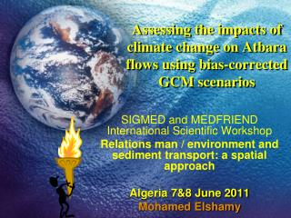 Assessing the impacts of climate change on Atbara flows using bias-corrected GCM scenarios