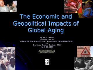 The Economic and Geopolitical Impacts of Global Aging