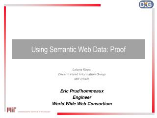 Using Semantic Web Data: Proof
