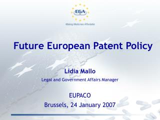 Future European Patent Policy