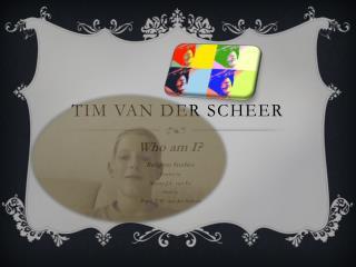 Tim van der scheer