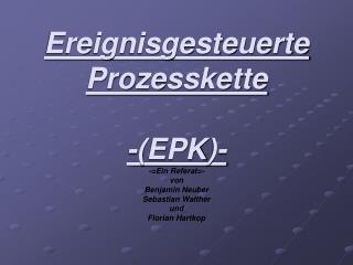 Definition EPK