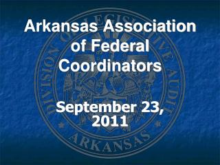 Arkansas Association of Federal Coordinators