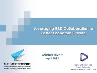 Leveraging R&D Collaboration to Foster Economic Growth