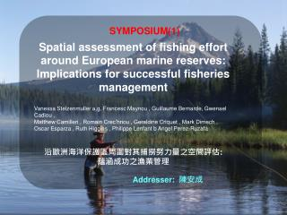 Spatial assessment of fishing effort around European marine reserves: