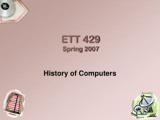 ETT 429 Spring 2007
