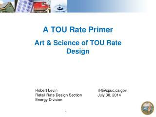 A TOU Rate Primer