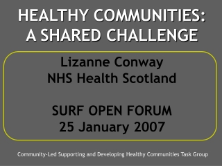 Scotland s Health at Work