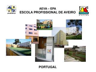 AEVA � EPA ESCOLA PROFISSIONAL DE AVEIRO