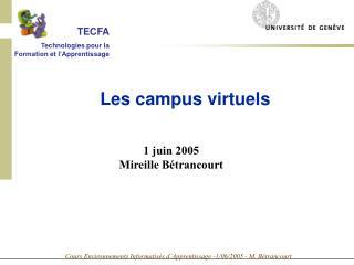 1 juin 2005 Mireille Bétrancourt