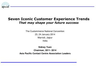 Seven Iconic Customer Experience Trends That may shape your future success