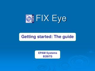 FIX Eye