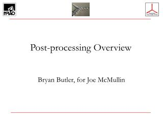 Post-processing Overview