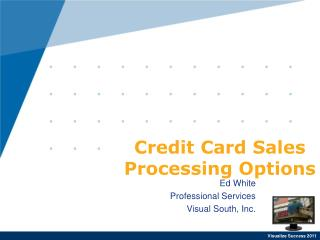 Credit Card Sales Processing Options