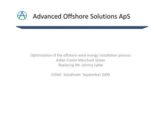 Advanced Offshore Solutions ApS