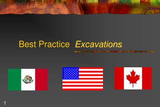 Best Practice   Excavations