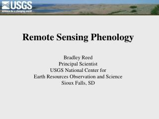 Remote Sensing Phenology