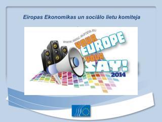 Eiropas Ekonomikas un sociālo lietu komiteja