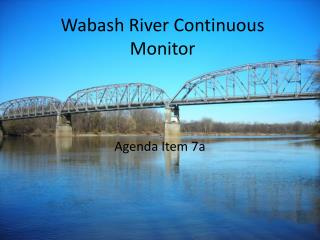 Wabash River Continuous Monitor