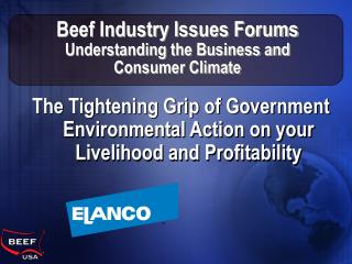 Beef Industry Issues Forums Understanding the Business and Consumer Climate