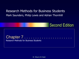 Choosing Your Primary Research Method