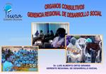 ORGANOS CONSULTIVOS  GERENCIA REGIONAL DE DESARROLLO SOCIAL