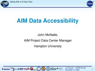 AIM Data Accessibility