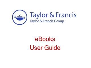 eBooks  User Guide