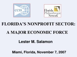 FLORIDA'S NONPROFIT SECTOR: