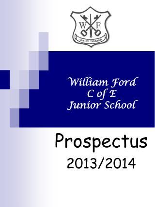 William Ford  C of E  Junior School