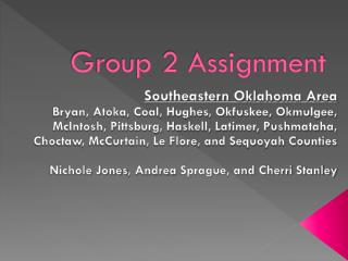 Group 2 Assignment