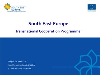 South East Europe  Transnational Cooperation Programme