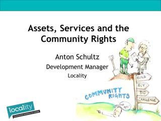Anton Schultz Development Manager Locality