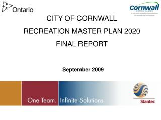 CITY OF CORNWALL RECREATION MASTER PLAN 2020 FINAL REPORT