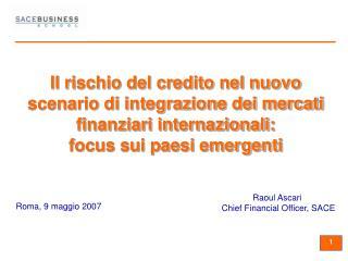 Roma, 9 maggio 2007